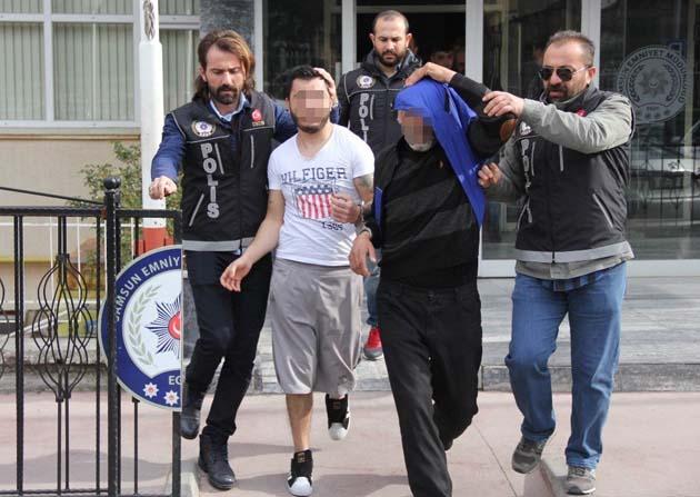 2,5 kilo bonzai ile yakalanan 3 kişi tutuklandı