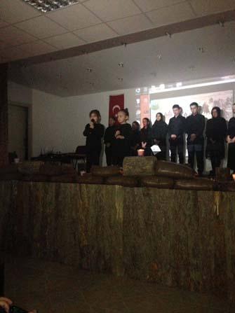 Pınarbaşı ilçesinde şiir dinletisi düzenlendi