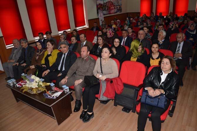 Osmancık'ta koruyucu aile ve kadın istihdamı anlatıldı