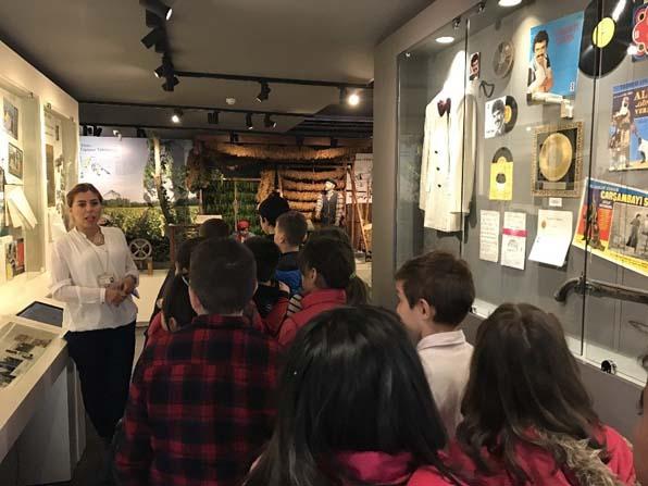 Minik öğrenciler Kent Müzesini gezdi