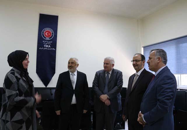 TİKA'dan Ürdün Üniversitesi İlahiyat Fakültesine hafızlık laboratuvarı