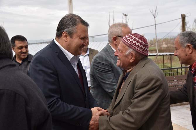 Başkan Çerçi, Barbaros Mahallesi sakinleriyle buluştu