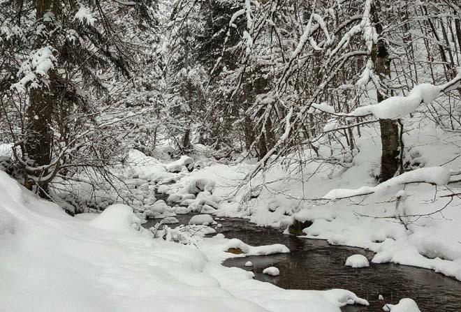 'Dört Mevsim Bolu' projesinin kış filmi tamamlandı