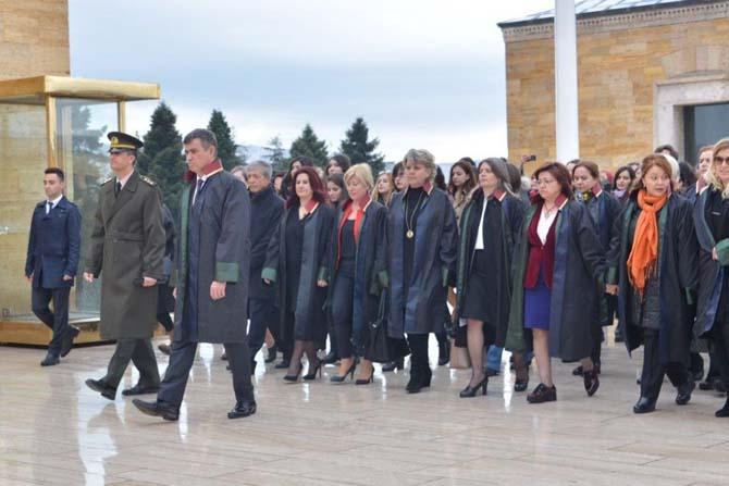 Düzce Baro Başkanı Av. Azade Ay Ankara'da
