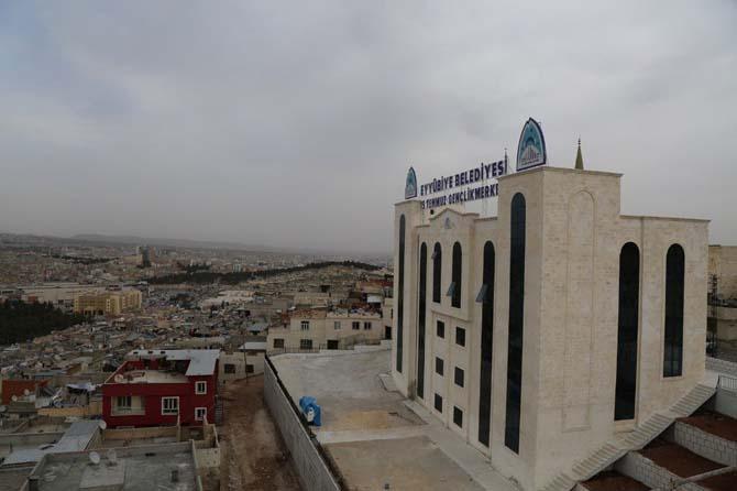 Eyyübiye Belediyesinin eseri açılışa hazırlanıyor