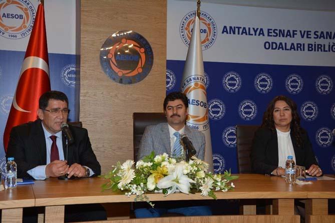 Gümrük ve Ticaret Bakanlığı Esnaf ve Sanatkârlar Genel Müdürü Necmettin Erkan:
