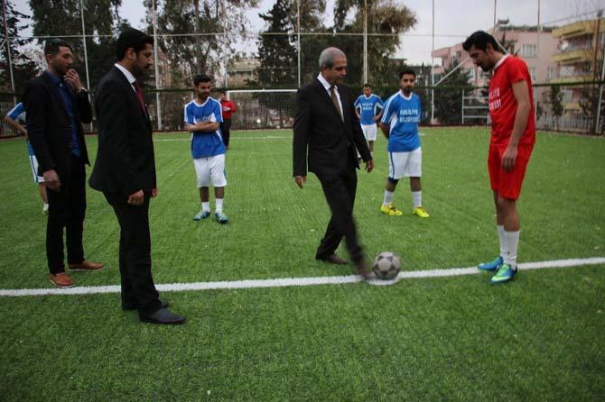 Haliliye'de mahalleler arası futbol turnuvası başladı