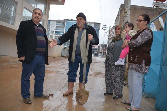 Ayrancılar çamur deryasına döndü