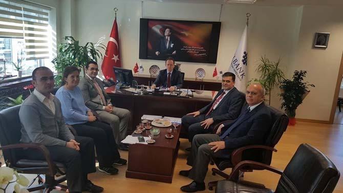Başkan Yalçın'ın Eskişehir temasları