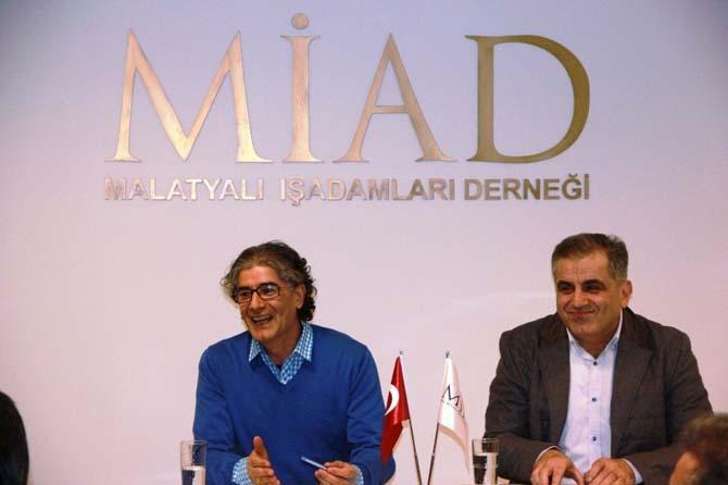 Prof. Dr .Öözdemir, Genç MİAD'in konuğu oldu