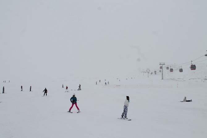 Erciyes'e Mart karı