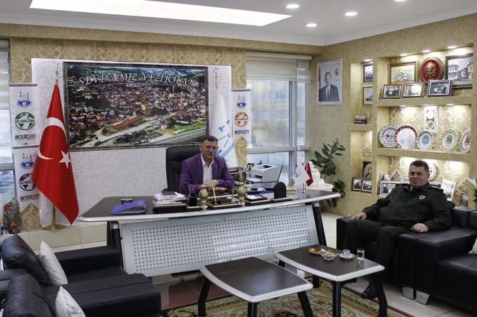 Başkan Duymuş ve Albay İnce, Vezirhan'ın güvenliğini konuştu