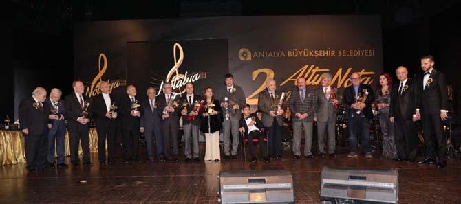 Altın Nota'da ödül gecesi