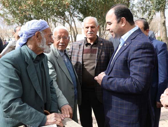 Başkan Çiftçi halk oylamasını esnafa anlattı