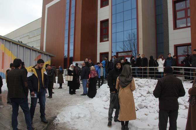 Erzurum'da YGS heyecanı