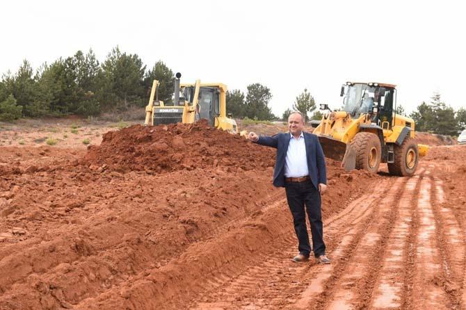 Kastamonu Belediyesinin turizm yolu çalışmaları başladı