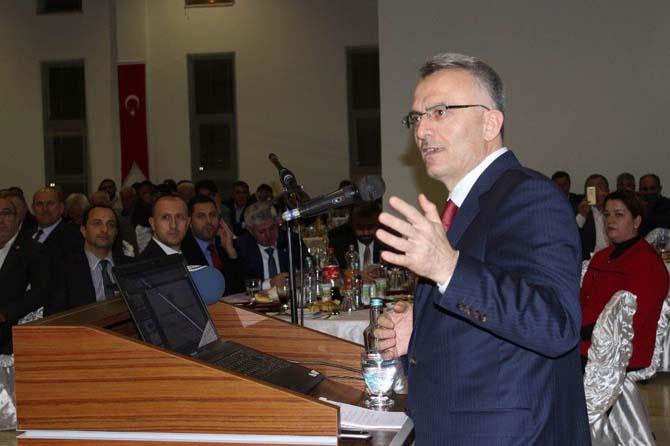"""Maliye Bakanı Ağbal: """"Avrupa neredeyse dağılacak, bu noktalara geldi"""""""