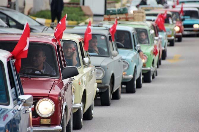 Klasik Hacı Murat tutkunları Bodrum'da buluştu