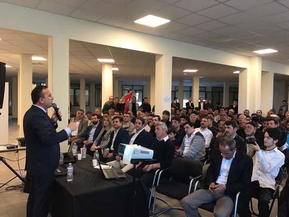 Milletvekili Ceylan'dan İtalya'da referandum temasları