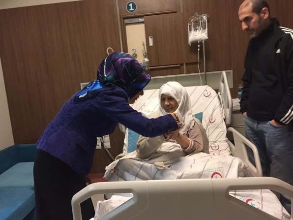AK Parti Siirt Teşkilatı'ndan hasta ziyareti