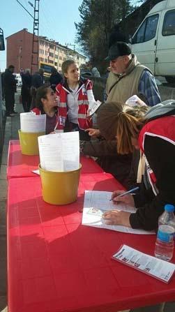 İğdir Köyünde kan bağışı kampanyası düzenlendi