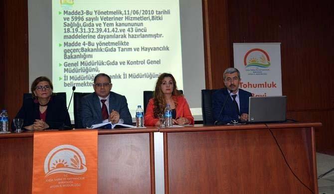 Aydın'da 2017 yılı bitki koruma ürünleri bayi toplantısı yapıldı