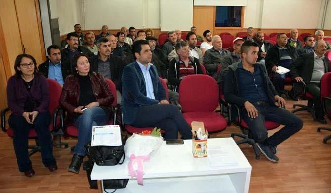 Aydın'da arı sütü üretimi farkındalık toplantısı yapıldı