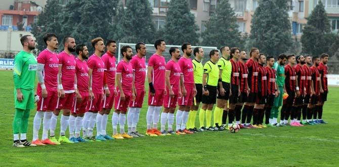Salihli'de kritik maçı Turgutluspor kazandı