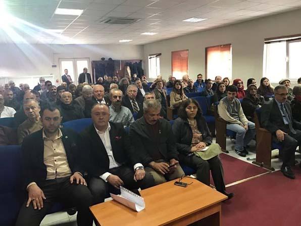 Sivil toplum üye ve temsilcileri bilgilendirme toplantısında bir araya geldi