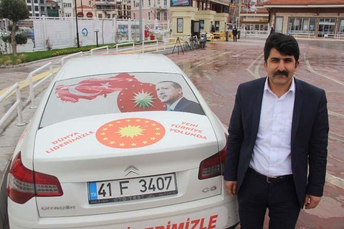 Cumhurbaşkanı Erdoğan'a destek için yollarda