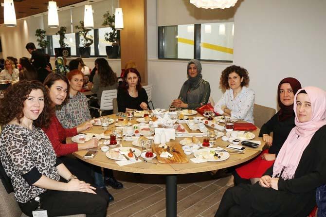 Bursagaz kadın çalışanlarıyla buluştu