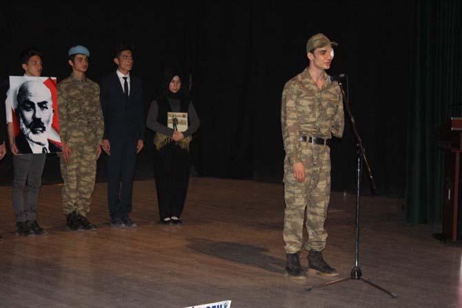 İstiklal Marşı'nın Kabulü ve Mehmet Akif Ersoy'u anma haftası
