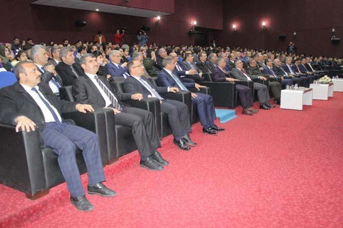 Elazığ'da İstiklal Marşı'nın kabulü ve Mehmet Akif Ersoy'u anma programı
