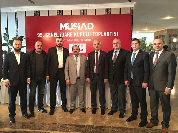 MÜSİAD Düzce yönetimi MÜSİAD GİK toplantısına katıldı