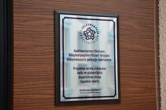 """TESKİ'den """"Süleymanpaşa'nın Filizleri Yetişiyor"""" projesine destek"""