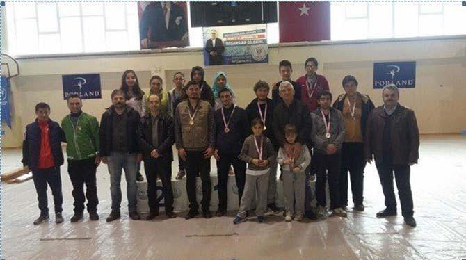 Bilecik'te satranç turnuvalarının en hızlısı belli oldu