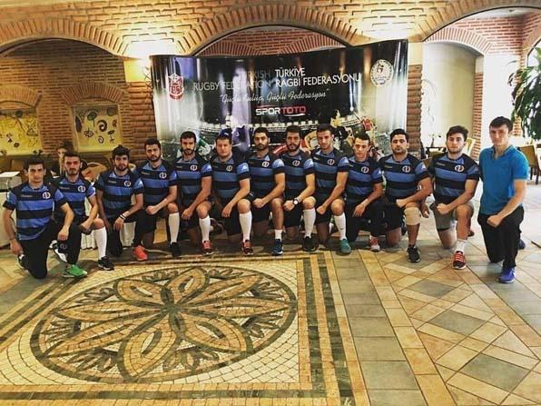Unilig Ragbi eleme müsabakalarında Anadolu Üniversitesi erkek takımı birinci oldu