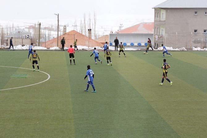 Başkale Gençlikspor, Ağrı ekibine yenildi
