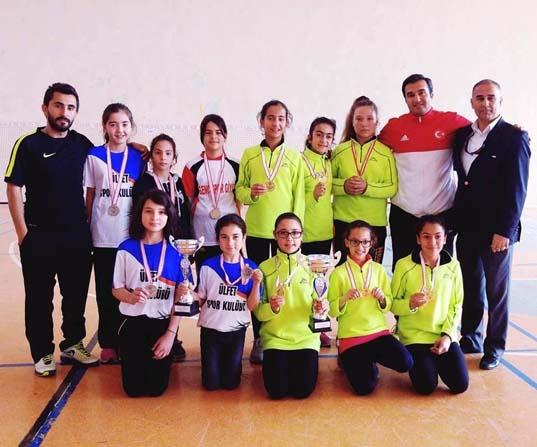 Adana'da Okullararası Küçükler Badminton İl Birinciliği