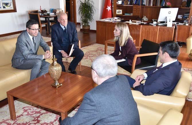 Rus Müsteşardan, Başkan Tiryaki'ye ziyaret