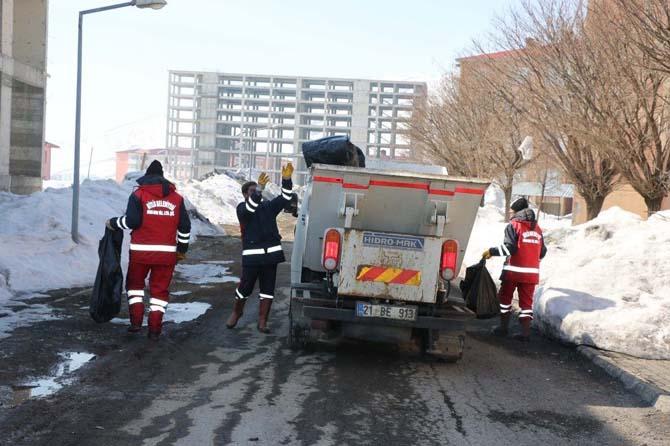 Bitlis Belediyesi temizlik çalışmaları başladı