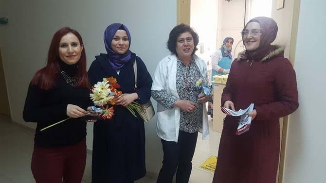 Başkan Yıldırım, sağlıkçıların 14 Mart Tıp Bayramını kutladı referandumu anlattı