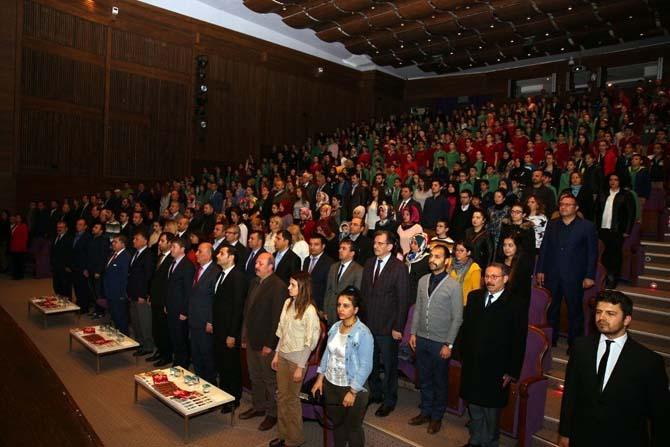 İstiklal Marşı'nın kabulünün 96'ncı yılı kutlandı