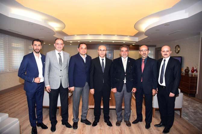 Kayserililer ve Bosnalılar Derneği'nden Vali Demirtaş'a ziyaret