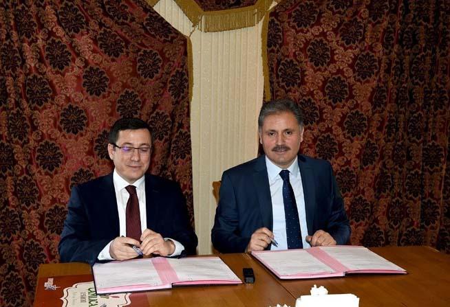 Belediye Başkanı Çakır ile Rektör Kızılay 'Muhtarlık Akademisi' protokolünü imzaladı