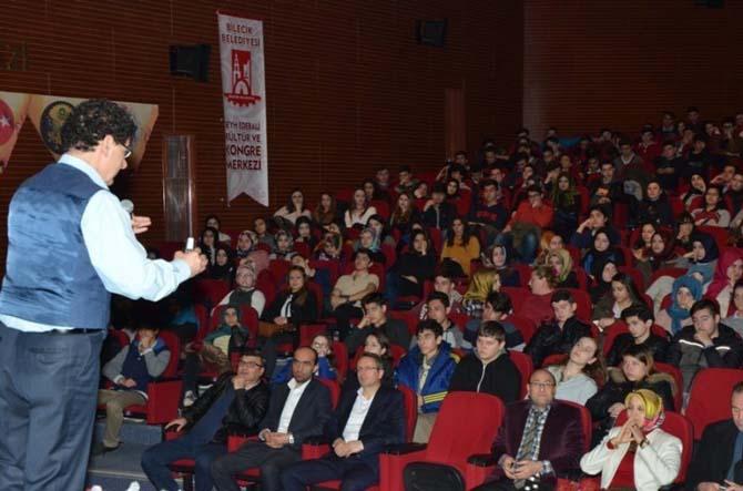 Bilecik'te 12'inci sınıf öğrencilerine LYS öncesi seminer