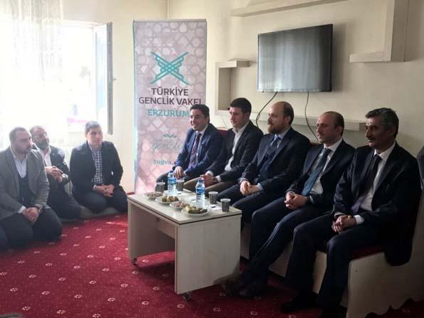 Erdoğan'dan TÜGVA'ya ziyaret