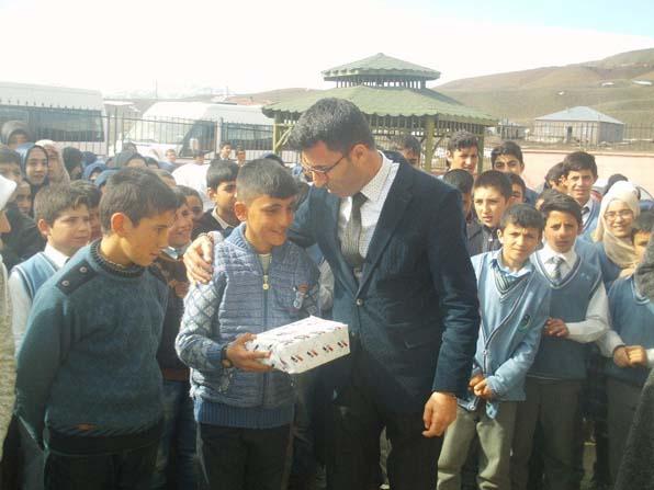 """""""Dünya Pi Günü"""" etkinlikleri Özalp'ta kutlandı"""