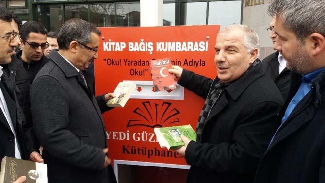 Yedi Güzel Adam Kütüphanesi Bursa'da kuruluyor