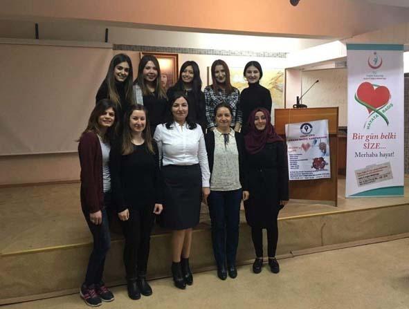 Yenipazar MYO'da organ bağışı eğitimi yapıldı